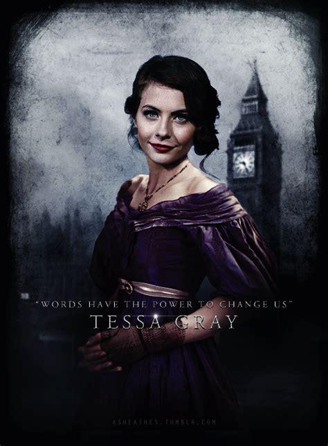 Tesya Dress Grey asheathes tessa gray character poster