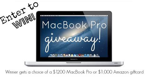 Free Macbook Pro Giveaway - january 2014 giveaway macbook pro winner butter nutrition