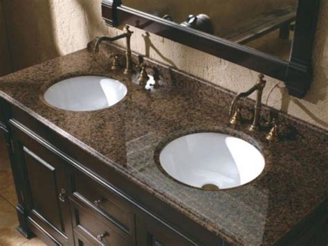 Bathroom Sinks With Granite Countertops by Bathroom Vanity Tops With Sink Bathroom Vanity Dimensions