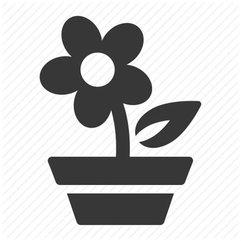 Garden Icon by Flower Garden Gardening Green Thumb Growing