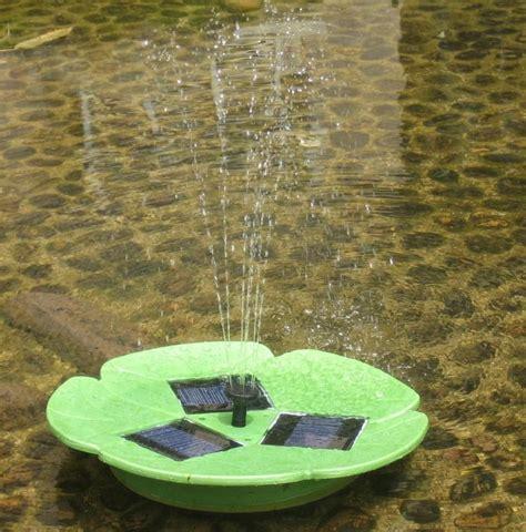 backyard pond fountains solar pump garden fountain pond water feature backyard