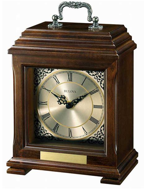 mantle clocks document mantel clock by bulova engravable clocks