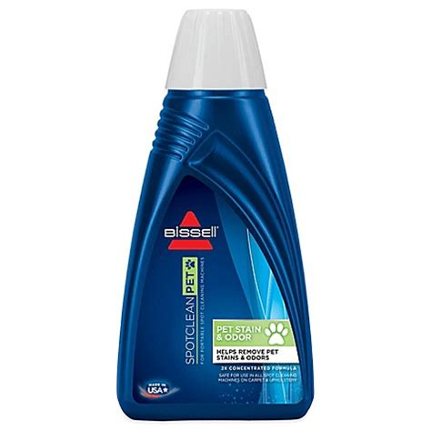 bissell bath buy bissell 174 pet odor and stain removal formula from bed bath beyond
