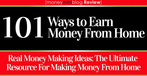 101 ways to make money from home book review