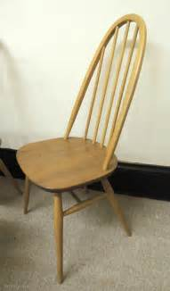 Vintage Ercol Dining Chairs Antiques Atlas Retro Set Of 4 Ercol Quaker Dining Chairs