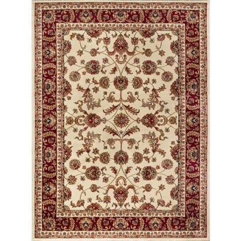 Area Rugs 8 X 12 Tayse Rugs Sensation Beige 8 Ft 9 In X 12 Ft 3 In Transitional Area Rug 4792 Ivory 9x12