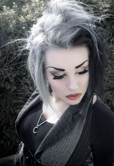 black grey hair amazing hair color combos for everyone best hair color