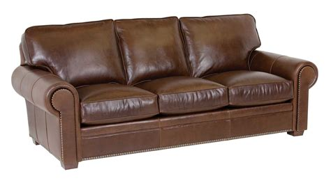 classic leather kirby sofa cl3518