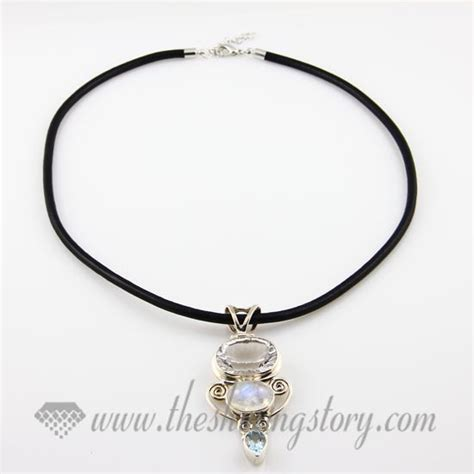 leather necklaces cord for pendants jewelry wholesale