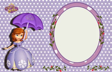 Princesa Sof 237 A Invitaciones Para Imprimir Gratis Ideas