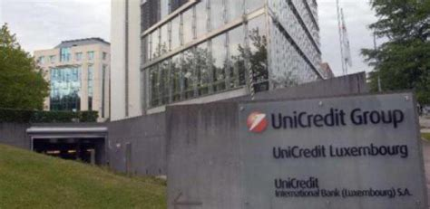 unicredit bank luxembourg unicredit luxemburg k 252 ndigt 162 angestellten