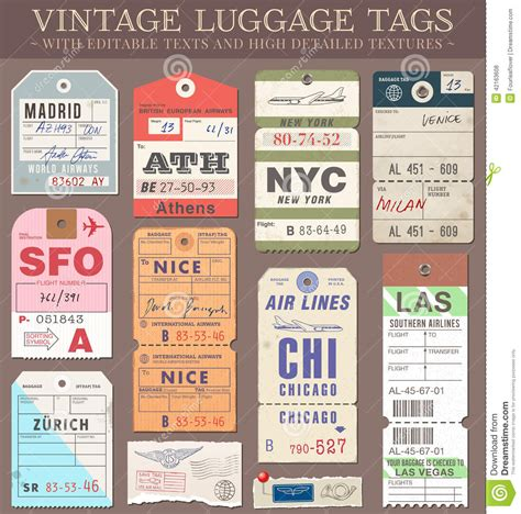 free printable airline luggage tags printable vintage luggage tags www pixshark com images