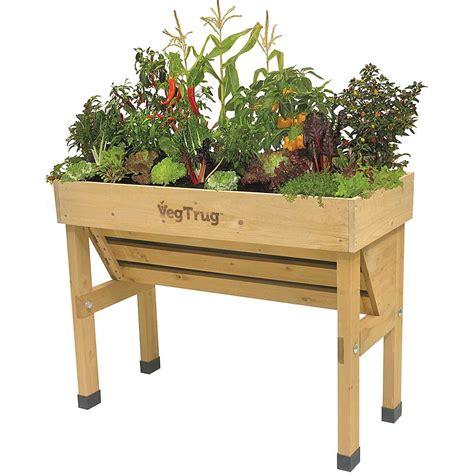 Vegetable Trug Planter by Vegtrug Wallhugger Raised Garden Planter Eartheasy