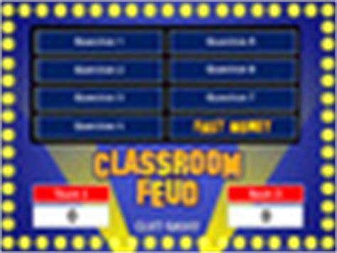 Classroom Feud Powerpoint T By Best Teacher Resources Family Feud Template For Teachers