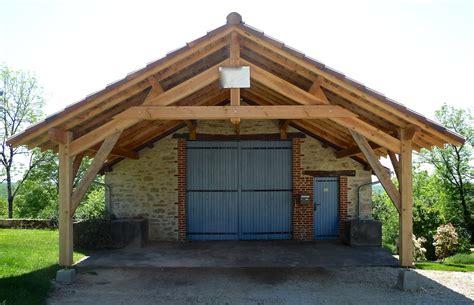 grand garage bois abris de garage en bois id 233 e int 233 ressante pour la