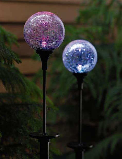 Solar Northern Lights Sphere Buy From Gardener S Supply Solar Sphere Lights