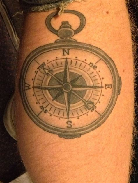 simple compass tattoo designs simple yet compass tattoos