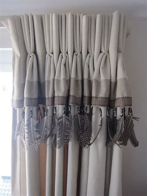 fringed curtains feather fringed curtains for the home pinterest
