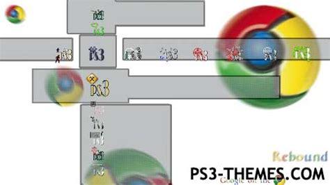 google themes ps3 ps3 themes 187 chrome