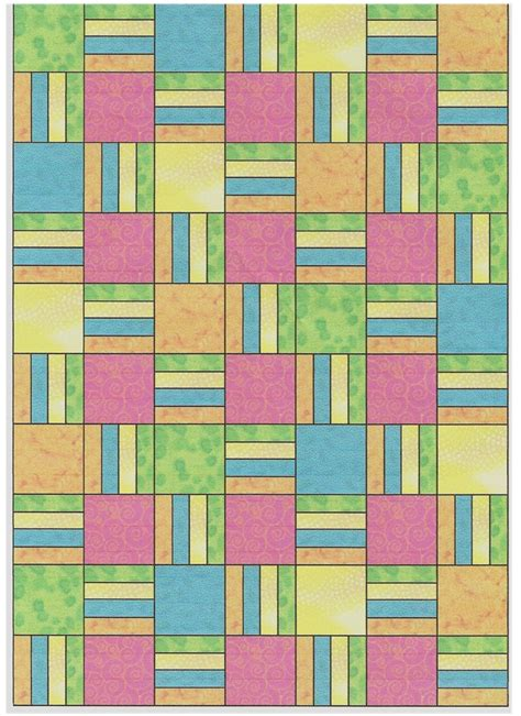 Free Patchwork Patterns - free quilt patterns free quilt pattern bars squares