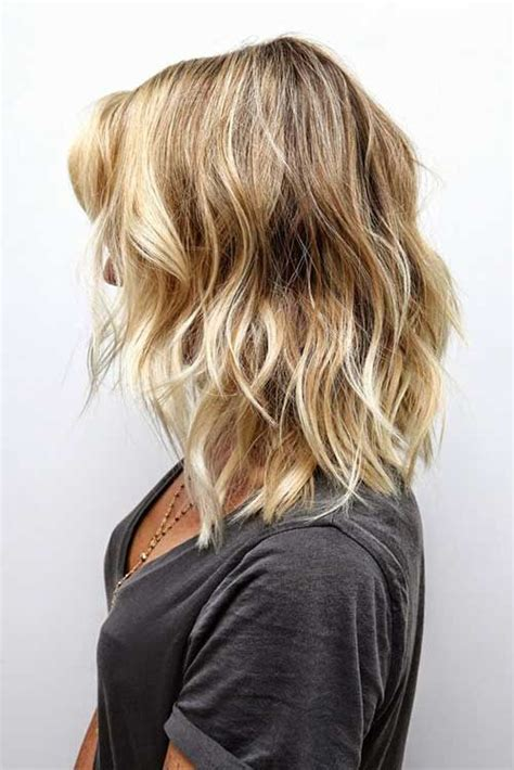 the lob hairstyle for curly hair 17 best ideas about medium wavy hair on pinterest short