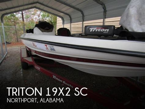 used triton boats for sale in alabama for sale used 2008 triton 19x2 sc in northport alabama