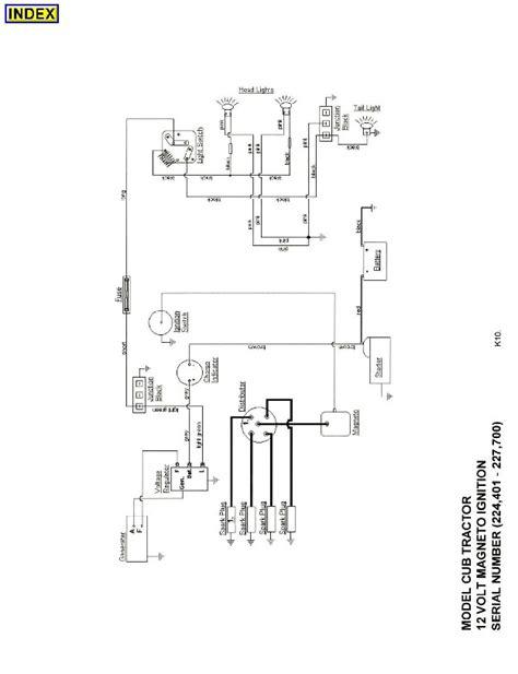 farmall cub wiring schematic 1950 farmall cub wiring