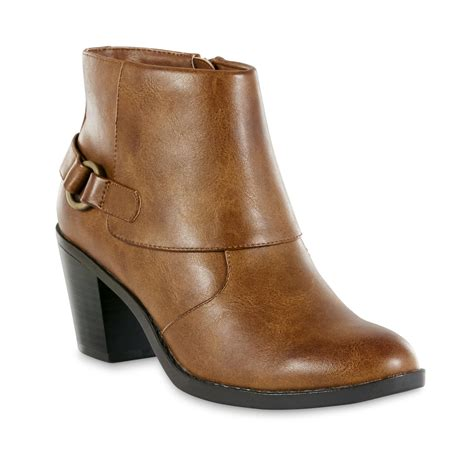 sears womens ankle boots wear s connie brown ankle boot