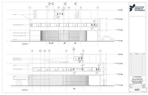 How To Design A House Plan villa savoye