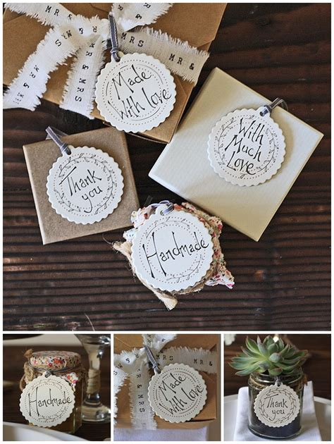 Handmade Wedding Gift - new wedding sts stickers gift tags for sale