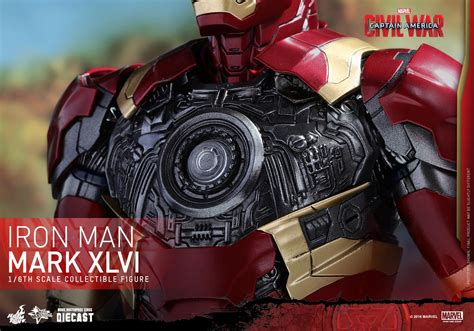 Iron Mk 46 Marvel Figure toys 1 6 marvel captain america civil war mms353d16