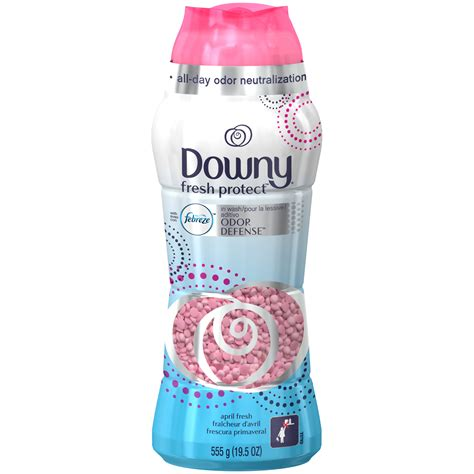 downy smell downy fresh protect april fresh in wash odor defense 19