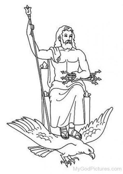 printable coloring pages of zeus kratos and zeus coloring pages coloring pages