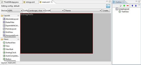 eclipse layout editor java mathcs org android user interface design with xml