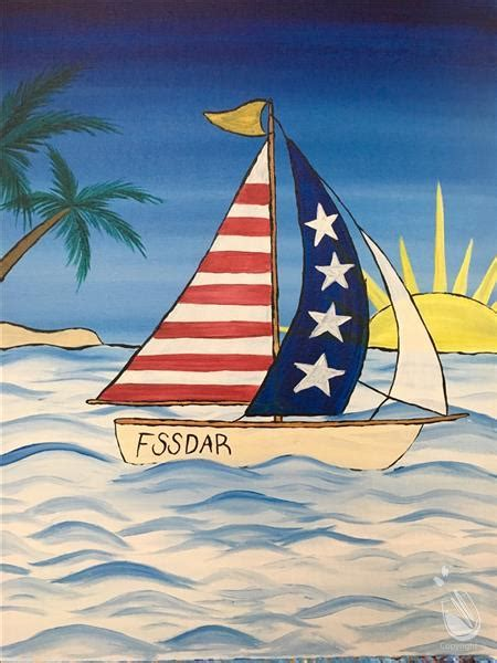 paint with a twist warrington sailing america saturday july 1 2017 painting with a