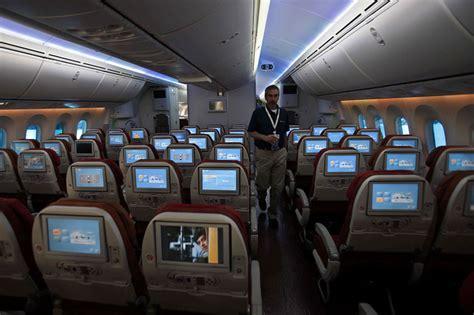 image air india boeing 787 dreamliner interior