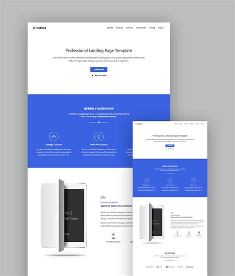 top responsive templates 18 best responsive html5 landing page templates 2018