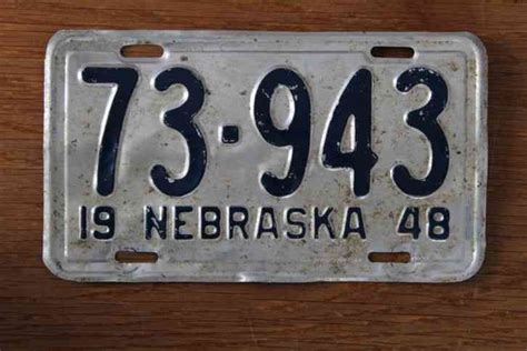 Lu Layar Led Beat Musik Sound 5 61 nebraska license plate 1948