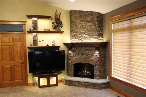 Fireplaces Norwich by Stunning Stacked Fireplace Build Creative Faux Panels