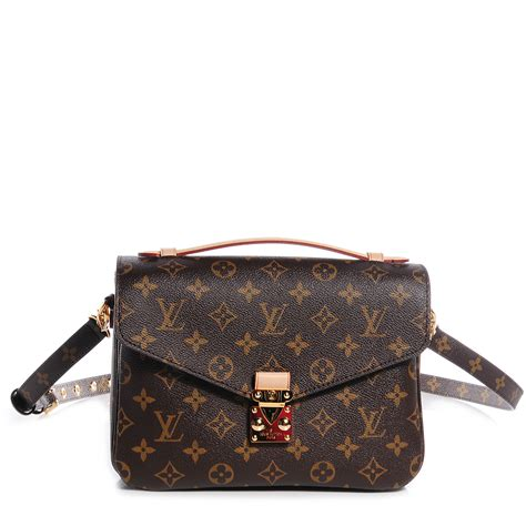LOUIS VUITTON Monogram Pochette Metis 74340