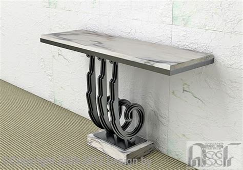 console table advanced stainless steel furniture