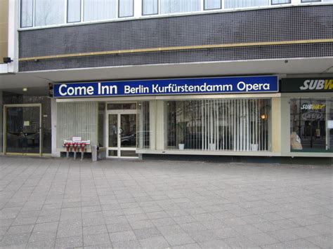 hotel come inn berlin quot eingang des hotels quot hotel come inn berlin kurf 252 rstendamm