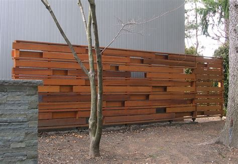 modern privacy fence gates this clean modern wood privacy fence is a wonderful addition to