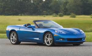 2008 Chevrolet Corvette Convertible Car And Driver