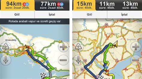 uecretli yollar ve feribotlar da artik yandexnavigasyonda