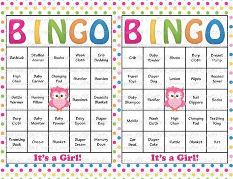 How Do You Play Baby Shower Bingo by 30 Baby Shower Bingo Cards Printable Baby Instant