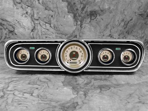 1965 mustang gauges classic instruments 1965 1966 mustang package all american