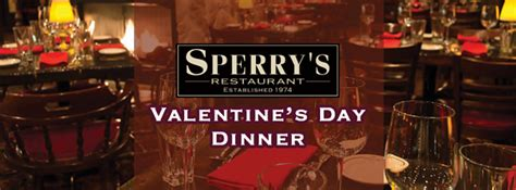 valentines nashville valentines dinner package at sperry s restaurant