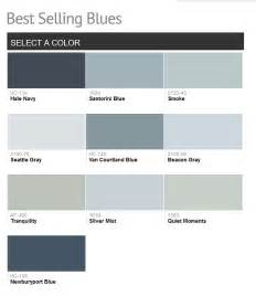 Benjamin Moore Blue 2016 paint color ideas for your home home bunch