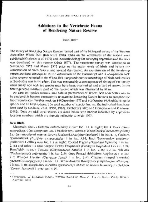 supplement 4 to part 744 additions to the vertebrate fauna of bendering nature